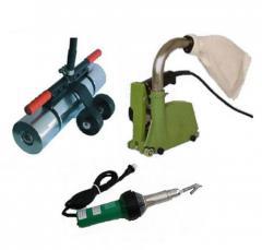 Devices for linoleum welding. The Svarochny