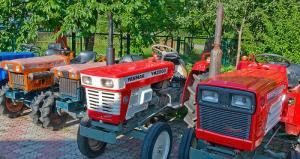 Продажа бу тракторов из Японии
