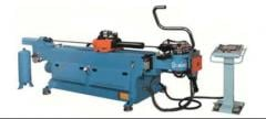 Budget self-shuttling SOCO pipe bending machine.