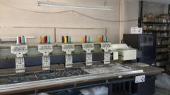 Mnogogolovochny embroidery machines (Code: M0002)
