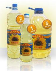 Sunflower oil of a cold extraction of TM Rainbow