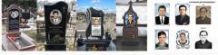 Photoceramics for gravestones