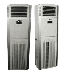 Air dehumidifier for the pool of APEX