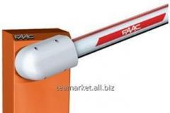 Шлагбаум автоматический FAAC 615BPR STD WINTER -40°C (стрела круглая 5 м) (Италия)