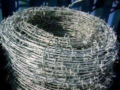 Barbed wire always available - a wide choice