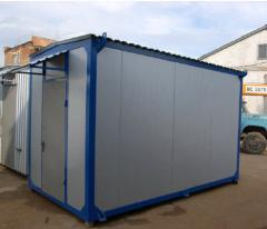 The container technology of sendvich-panels