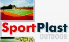 Покрытие для тенисного корта Спортпласт