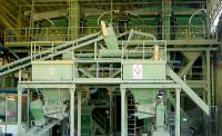 Equipment for production of building materials.