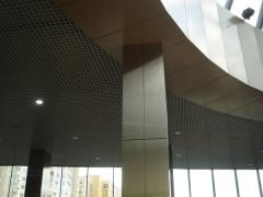 Trellised aluminum ceilings of GRILYaTO
