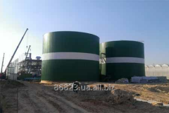 Capacity of fuels and lubricants is 5000 m3 from