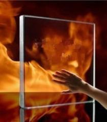 Огнеупорное стекло для каминов и печей