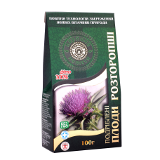 Milk thistle fruits chopped, 100g