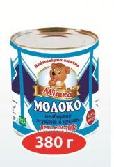 Молоко сгущенное ГОСТ c/б 380 грм