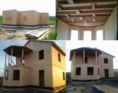 Строительство домов по канадской технологии, дома,