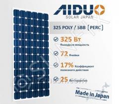 Солнечная панель AIDUO ECO SHINE 72P-325 [325 Вт]