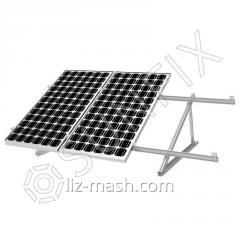 Алюминиевая конструкция на плоскую крышу