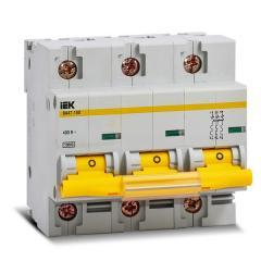 Автоматический выключатель ВА 47-100 3Р 100А 10 кА