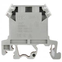Зажим наборный ЗНИ- 4мм2 (JXB35А) серый IEK, Арт.