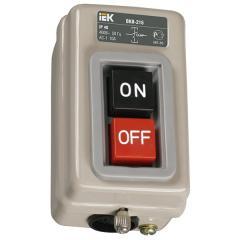 Выключатель ВКИ-216 3Р 10А 230/400В IP40 IEK, Арт.