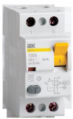 Выключатель дифференциальный УЗО ВД1-63 2Р (16А,
