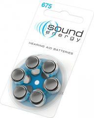 Батарейки для слухового аппарата, тип 675 (PR44 )