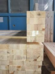 Glued pine bars