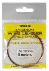 Поводочный материал струна Fishing Roi Wire Leader