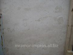 Crema Mare marble in sleba and a tile