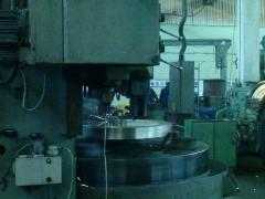 Production forge and press Forgings from ingots