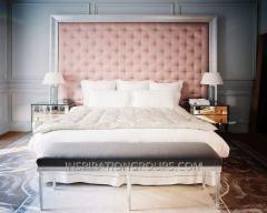 Мягкая пенель для кровати, кровать двухспальная