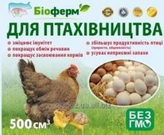 Пробиотик жидкий для птицеводства кур, уток,