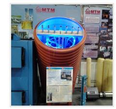The thermal AKT-300 accumulator of LLC Novye