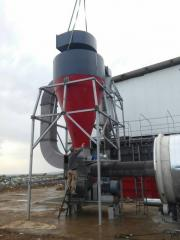 Hammer crusher for MSW
