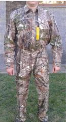 Костюм для охоты и рыбалки летний Cabela's Men's Bowhunter's Shirt with Silent Weave™