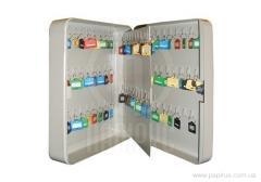 Шкаф металлический (ключница)на 90ключей TS0052 80х300х240мм,2,3кг без брелков