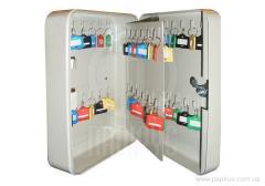 Шкаф металлический для ключей (Ключница) на 48 ключей TS0072 60х180х250мм,1,5кг без брелков