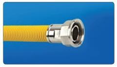 Гибкий шланг для газа GAS FLEX+PVC  1/2 ВР+ВР
