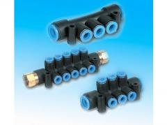 Коллектор быстроразъемных соединений SMC - KM