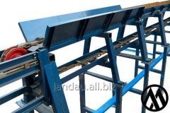 Brevnotaska, chain conveyor for logs