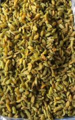Long green raisins. Export from Iran