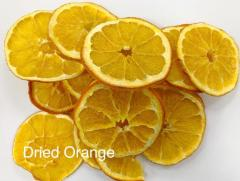 Dried orange rings. Export from Iran