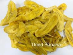 Dried bananas. Export from Iran