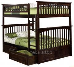 Кровать двухъярусная ЩИТ 120