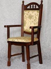 Кресло из дерева Бреда с подлокотниками