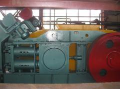 Units of small crushing. Crusher valtsovy I 114