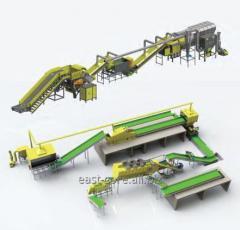 Maquinaria para el reciclaje de residuos