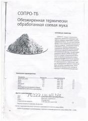 Обезжиренная термически обработанная соевая мука