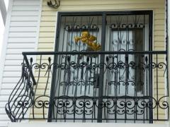 Металлические решетки для балкона