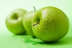 Granny Smith Apples, strengthen the hair, eyes,