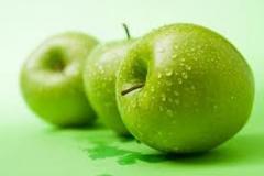 Яблоки Гренни Смит, укрепляют волосы, зрение,